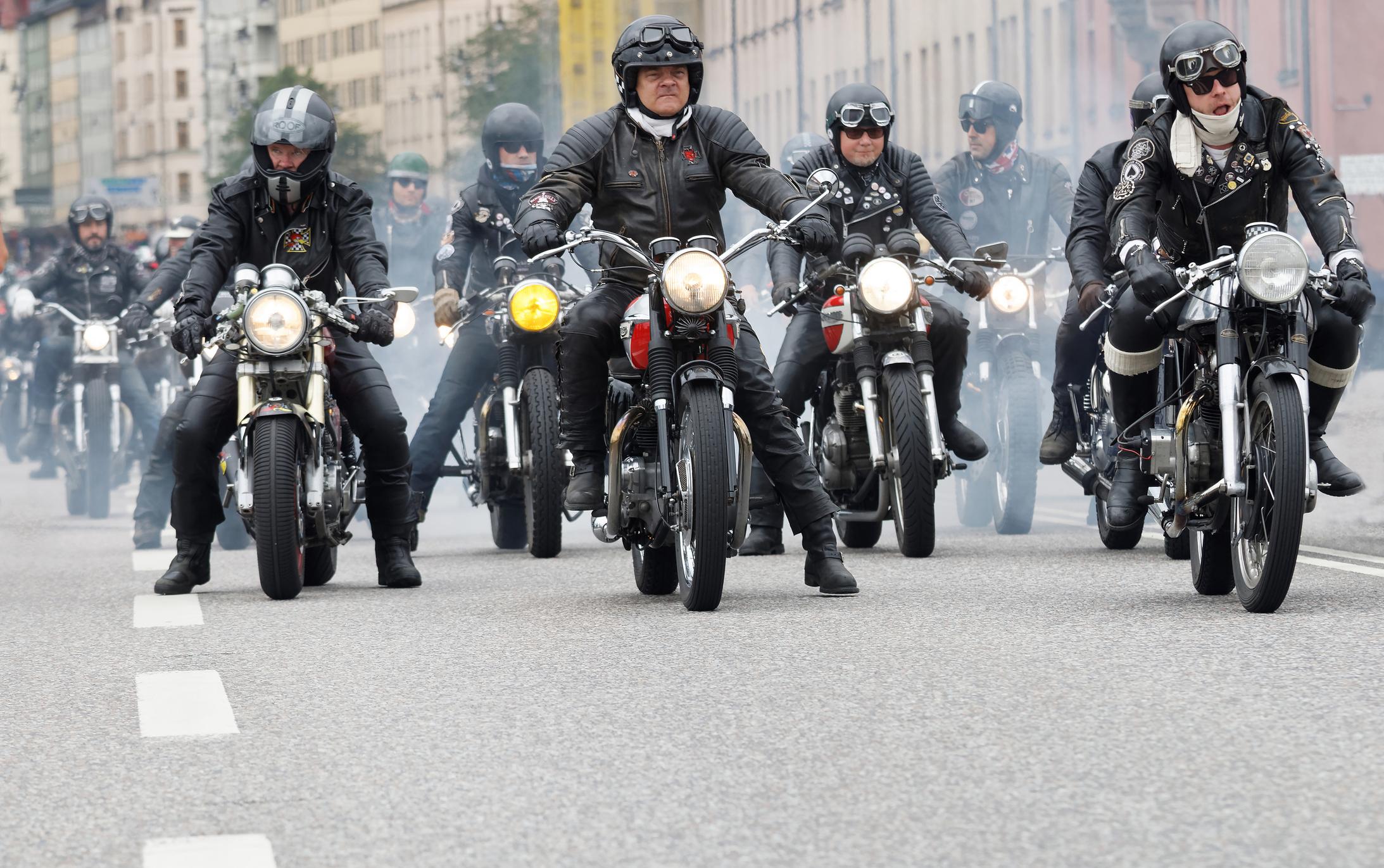 Motorcykelgäng i Sverige