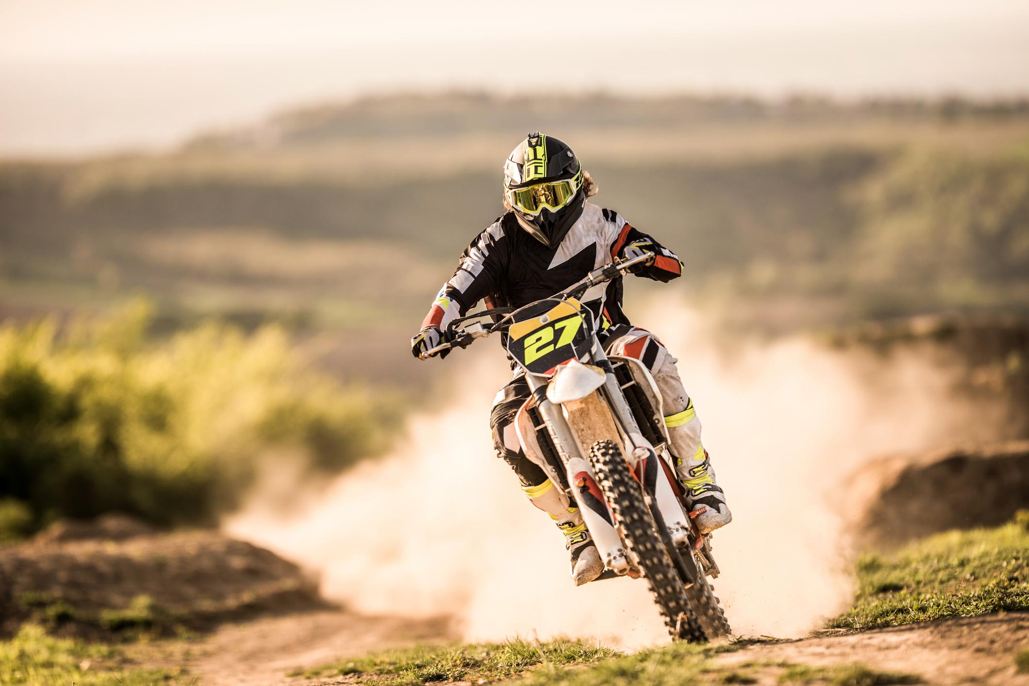 Motoryckelkörning som sport